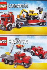 LEGO LEGO 31005 Construction Hauler CREATOR