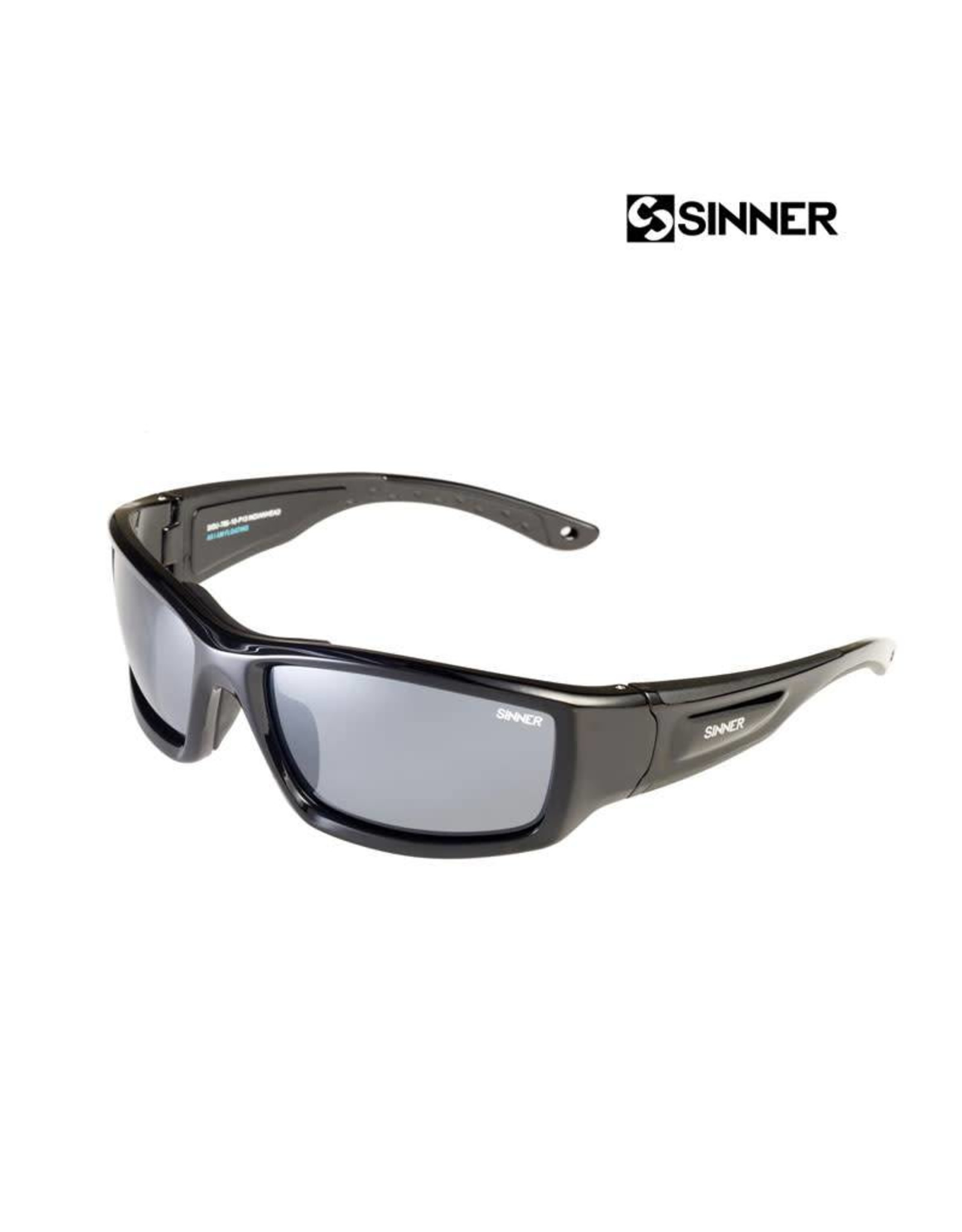 SINNER SINNER Indianhead Black-Sintec Smoke Zonnebril