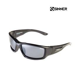 SINNER Indianhead Black-Sintec Smoke Zonnebril