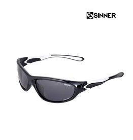 SINNER SHIFT Black/White-Sintec Smoke Zonnebril Uni