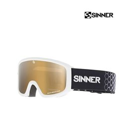 SINNER SKIBRIL DUCK MOUNTAIN Mat white-DBL Orange Jr.