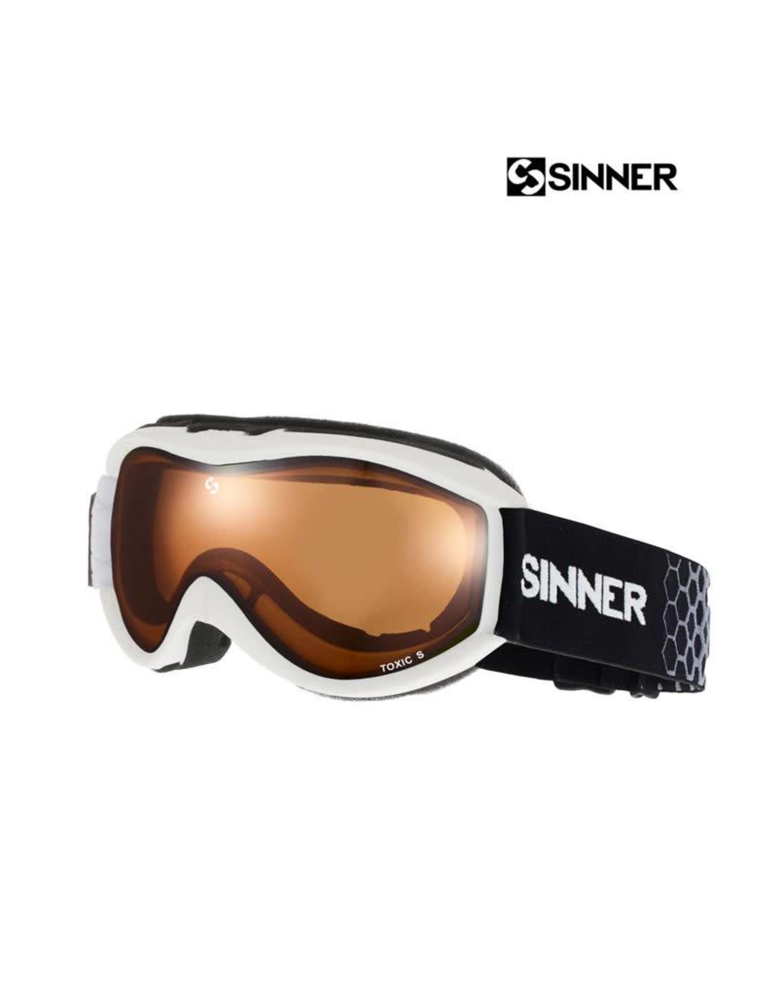 SINNER SKIBRIL SINNER TOXIC S Mat White-Double Orange Jr.