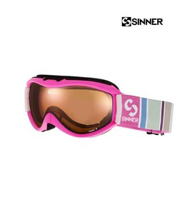 SINNER SKIBRIL TOXIC S Mat Knockout Pink-Double Orange Jr.