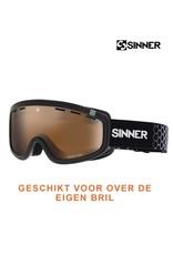 SINNER SKIBRIL SINNER VISOR III OTG Mat Black-Orange Vent