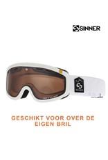 SINNER SKIBRIL SINNER VISOR III OTG Mat White-Orange Vent