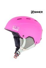 SINNER Helm Sinner Poley Mat Pink