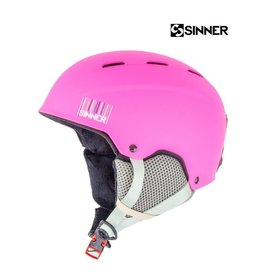SINNER Skihelm Poley Mat Pink