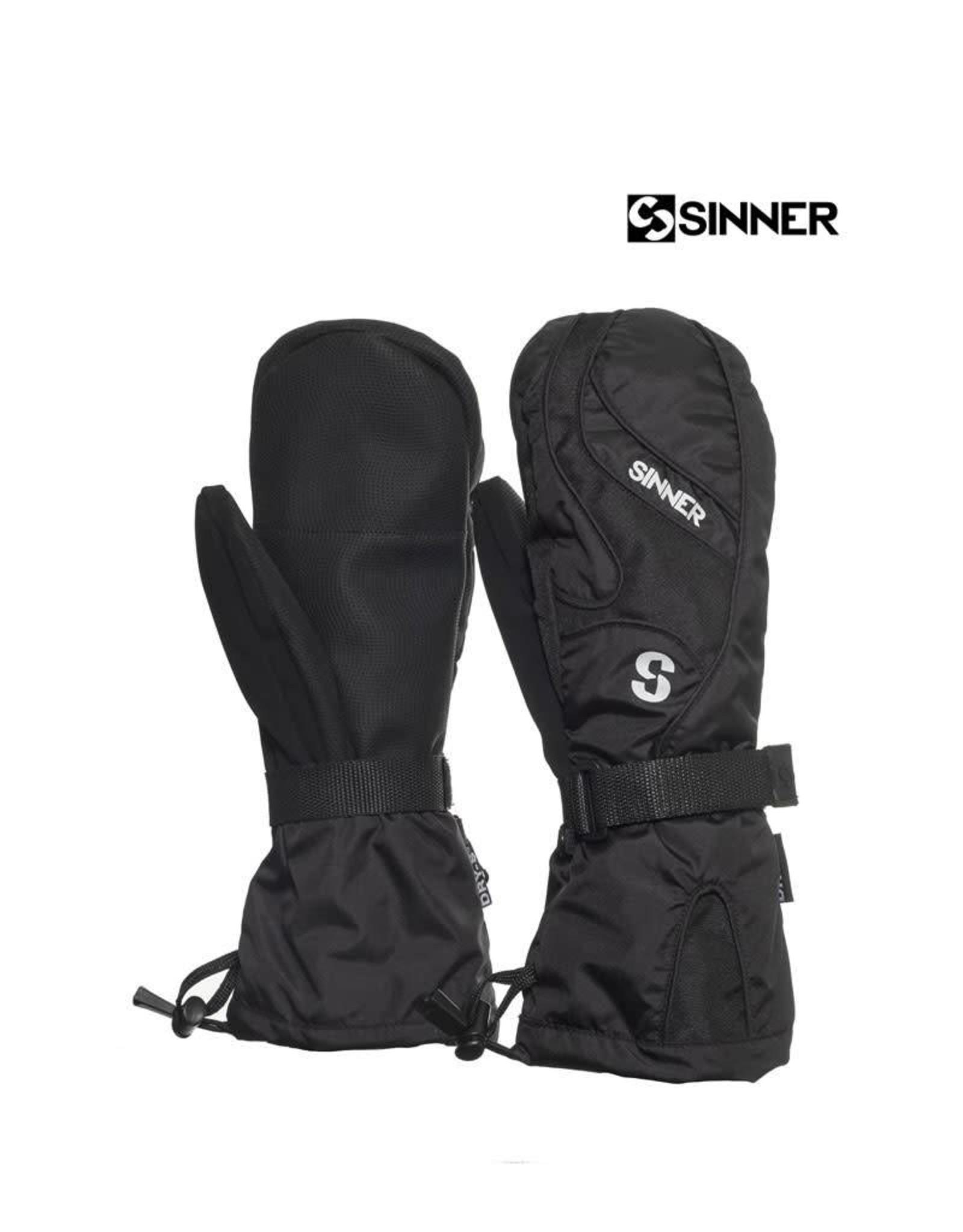 SINNER SINNER WANTEN Everest mitten Black