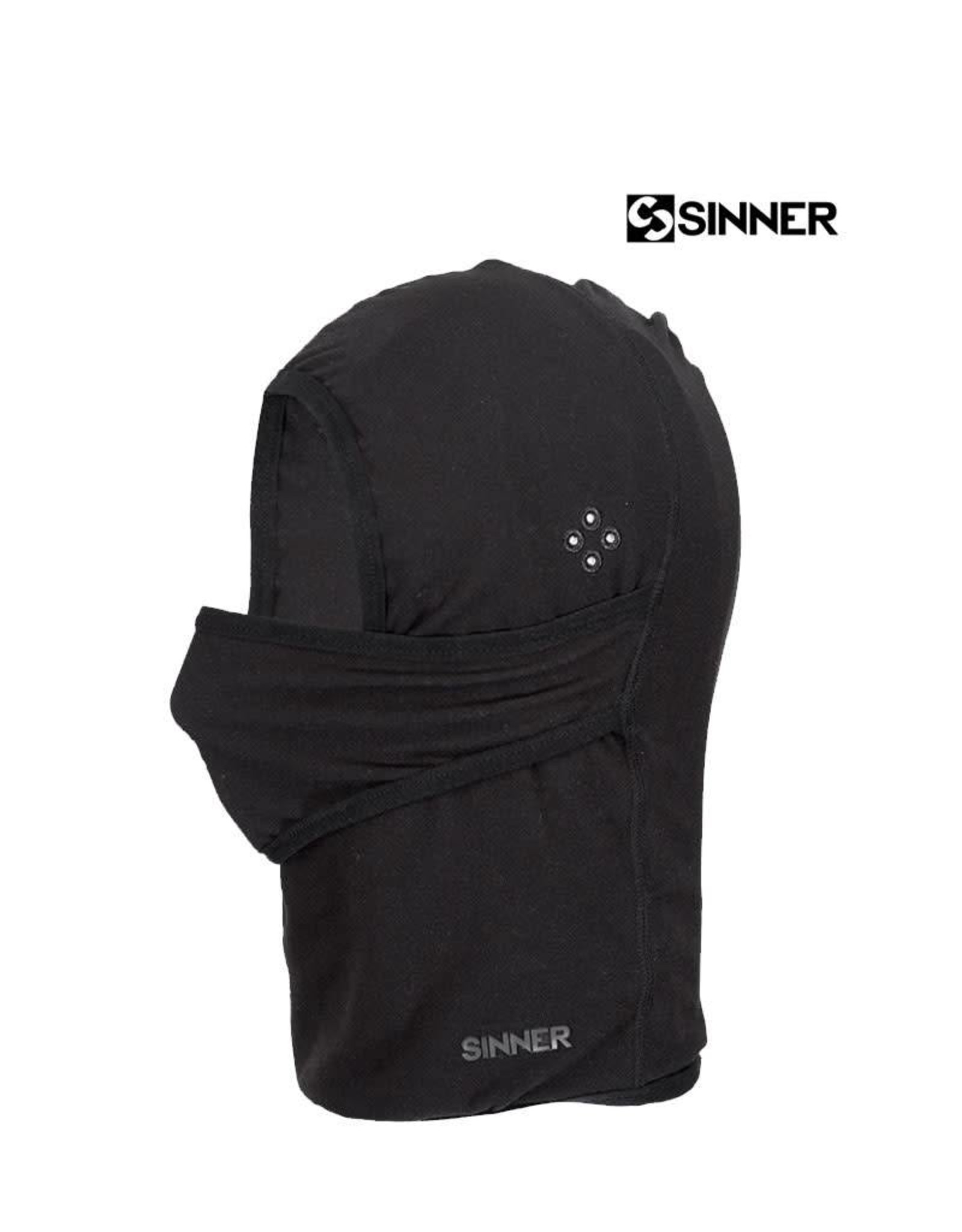 SINNER FORTRESS Fleece Black Uni (Balaclava/Facemask)