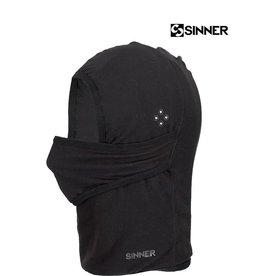SINNER BALACLAVA / FACEMASK FORTRESS Fleece Black Uni