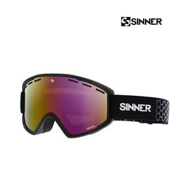 SINNER SKIBRIL BELLEVUE Matte Black-Double Full RED MR.