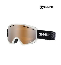 SINNER SKIBRIL BELLEVUE Matte White-Double Orange Mir