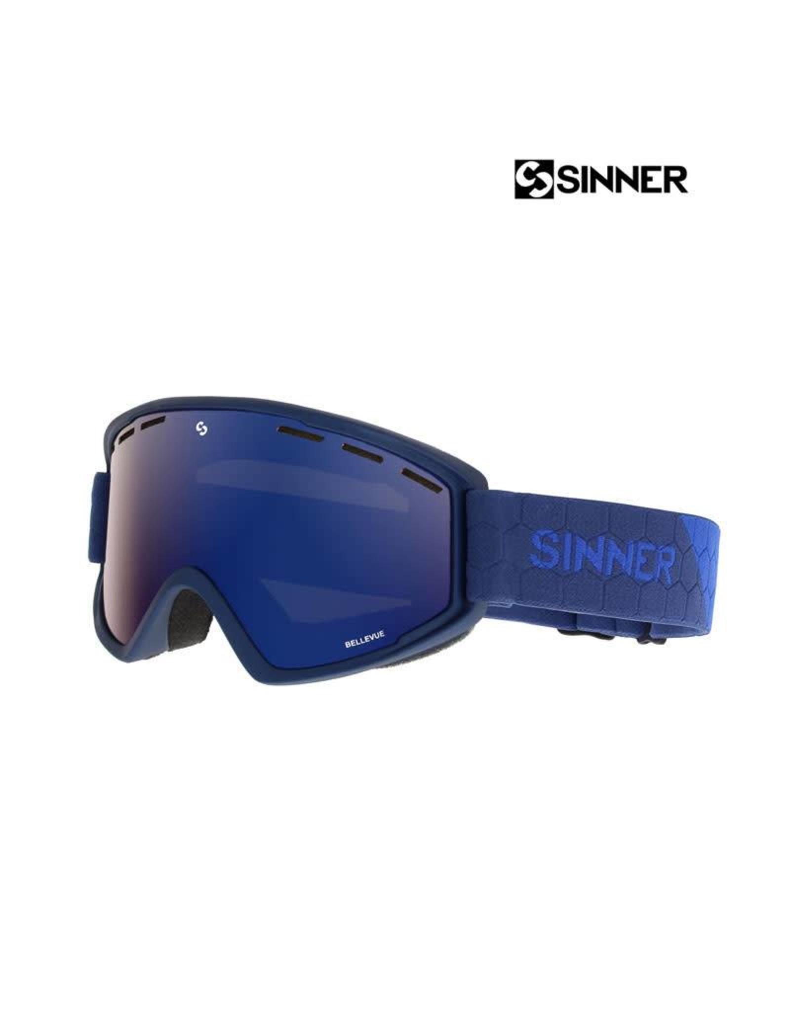 SINNER SKIBRIL SINNER BELLEVUE Mettalic Blue-Full Blue Mir