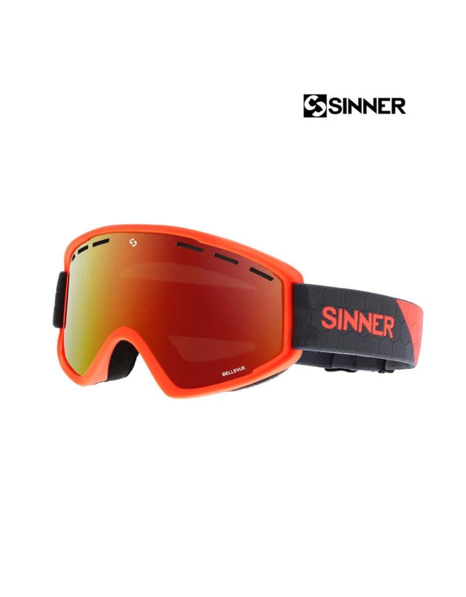SINNER SKIBRIL SINNER BELLEVUE MT NEON OR-Full RED REVO