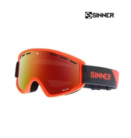 SINNER SKIBRIL BELLEVUE MT NEON OR-Full RED REVO