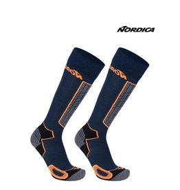 NORDICA NORDICA SKISOKKEN High Performance Blauw/Oranje 43-46