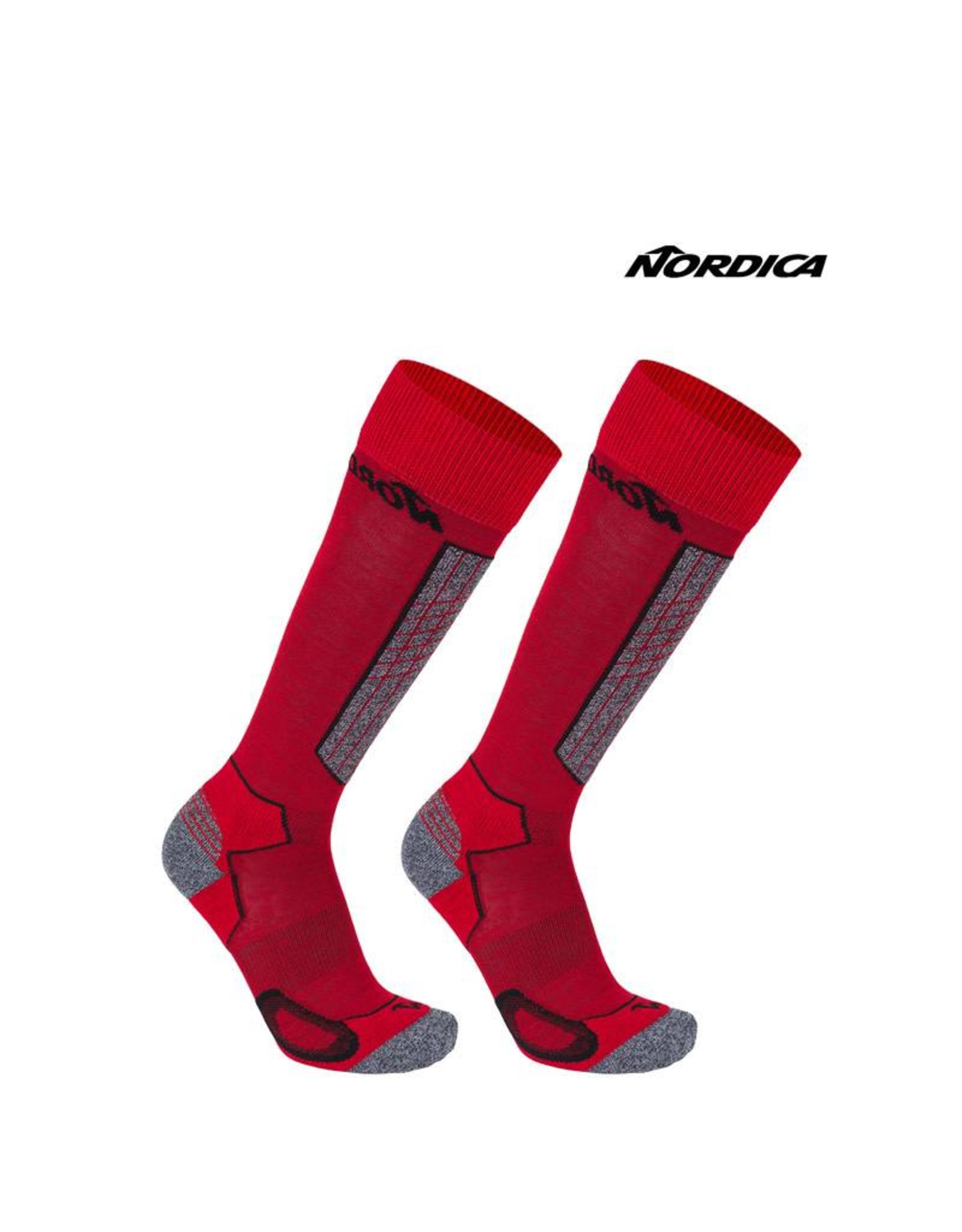 NORDICA NORDICA SKISOKKEN High Performance Rood/Zwart 43-46