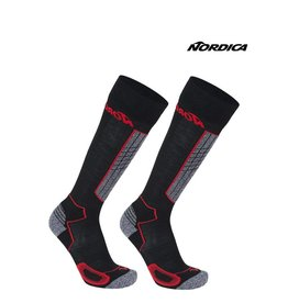 NORDICA NORDICA SKISOKKEN High Performance Zwart/Rood 43-46