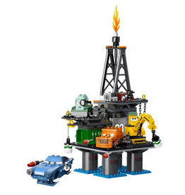 LEGO 9486 Oil Rig Escape CARS