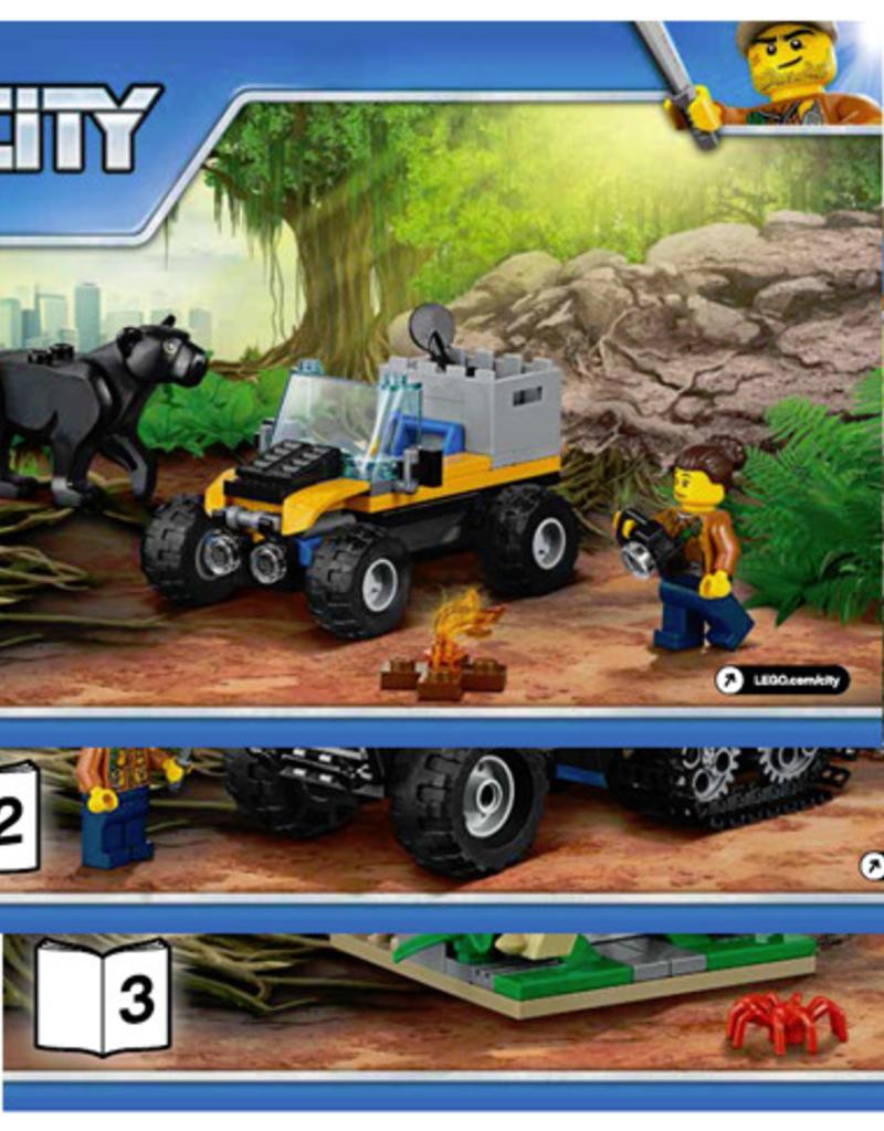 LEGO LEGO 60159 Jungle Halftrack Mission CITY