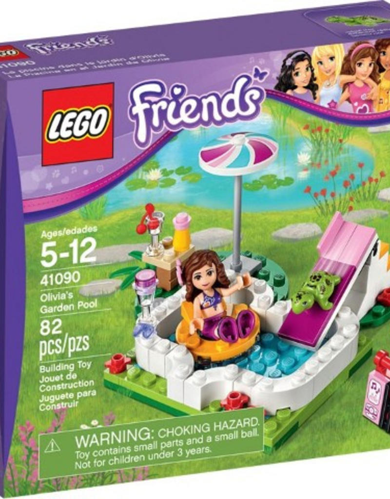 LEGO LEGO 41090 Olivia's Garden Pool FRIENDS