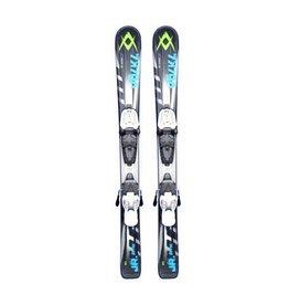 VOLKL RTM Jr. Ski's Gebruikt Zw/Bl/Groen
