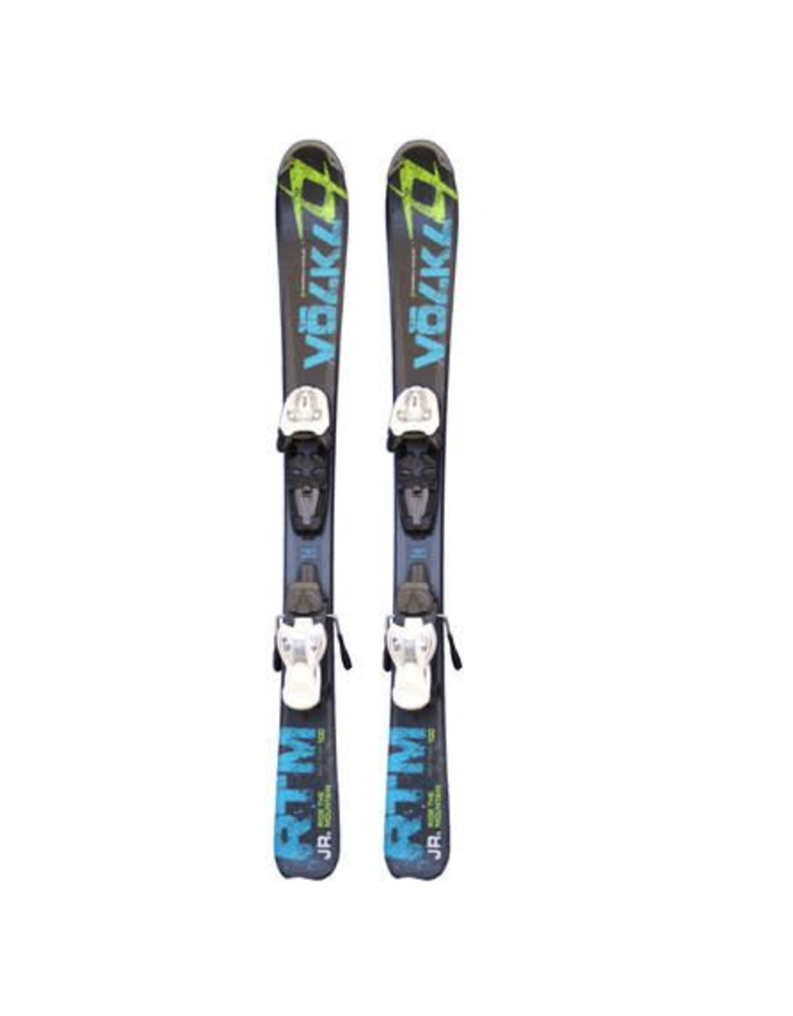 VOLKL Volkl RTM Jr. Ski's Gebruikt Zw/Bl/Groen