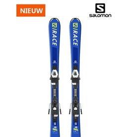 SALOMON S/Race Jr blauw Ski's NIEUW