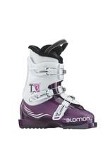 SALOMON Skischoenen SALOMON T3 (Paars) Gebruikt