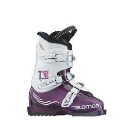 SALOMON Skischoenen T3 (Paars) Gebruikt