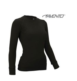 AVENTO THERMO SHIRT ZWART DAMES