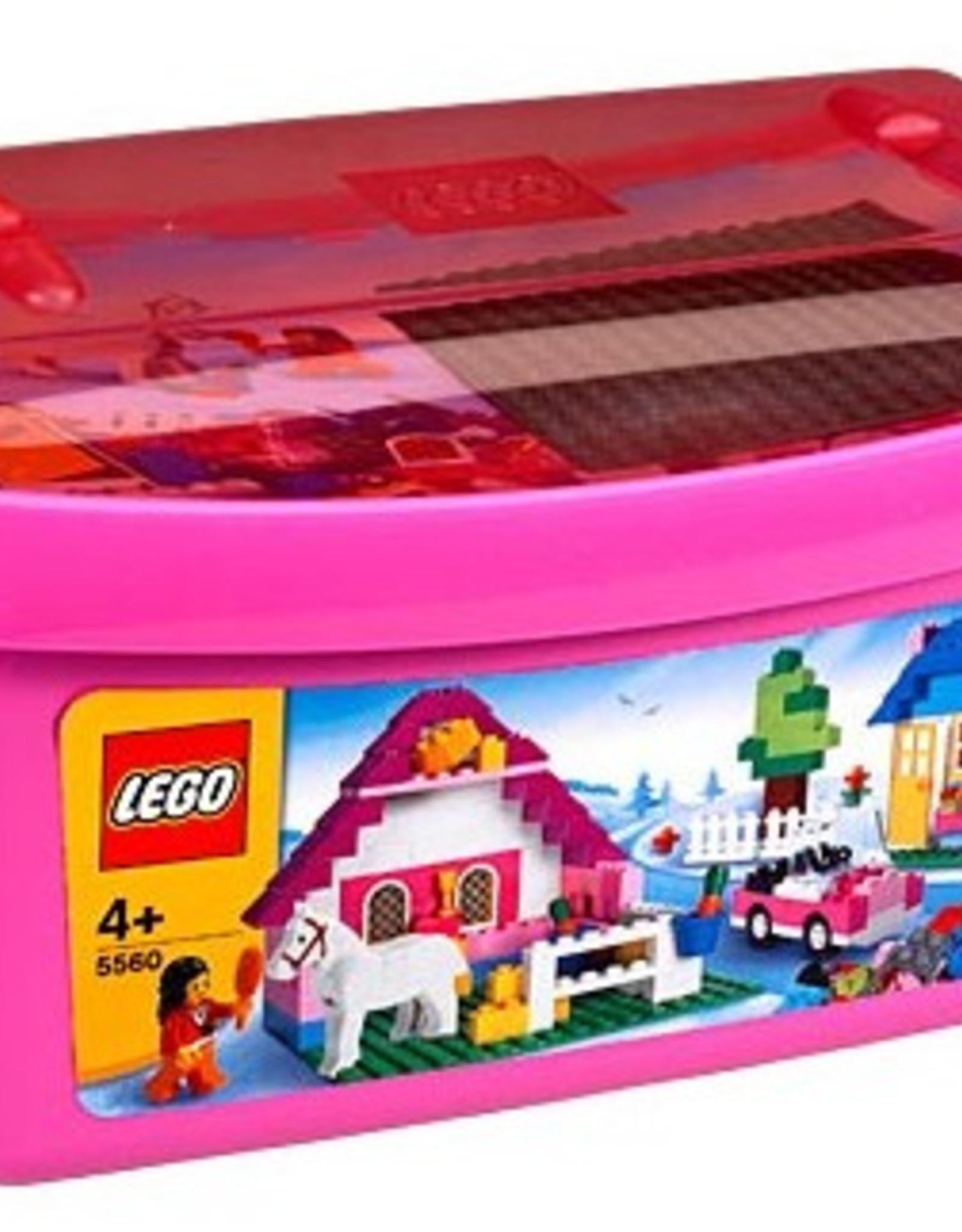 LEGO LEGO 5560 Large Pink Brick Box CREATOR