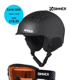 SINNER COMBI-PACK (Pincher+Lakeridge) Matte Black
