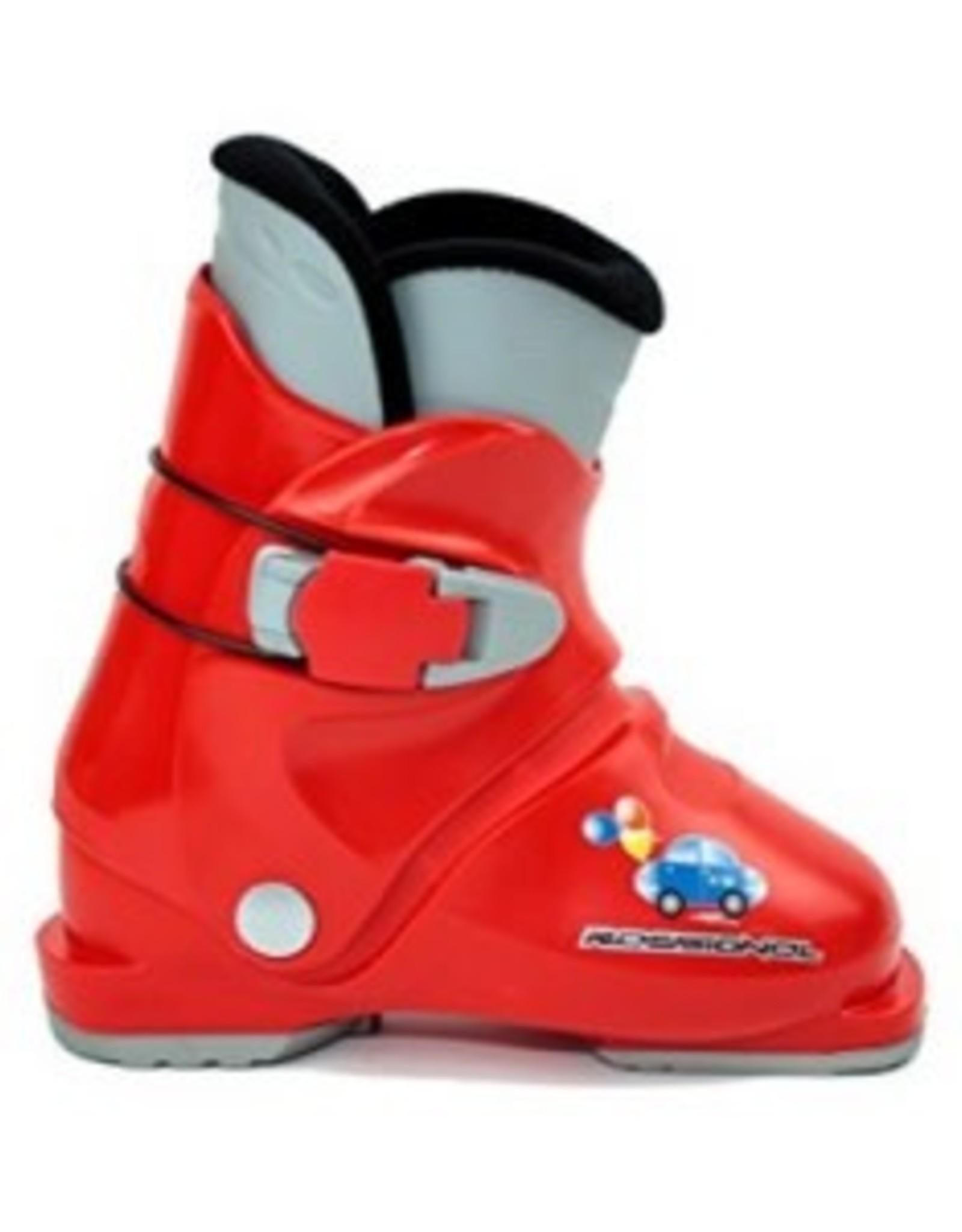 ROSSIGNOL Skischoenen Rossignol R18 Rood Gebruikt