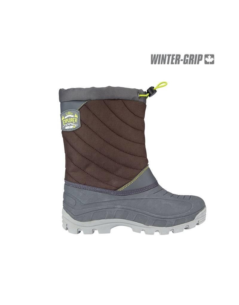 WINTER-GRIP WINTERGRIP SNOWBOOTS NORTHERN EXLORER Br/Ant/Grn