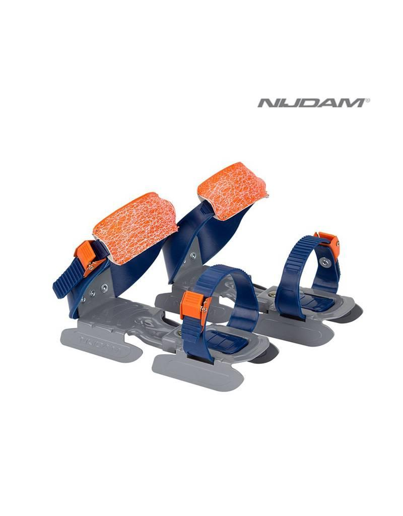 NIJDAM NIJDAM 3005 GLIJ-IJZERS verstelbaar Blw/Oranje