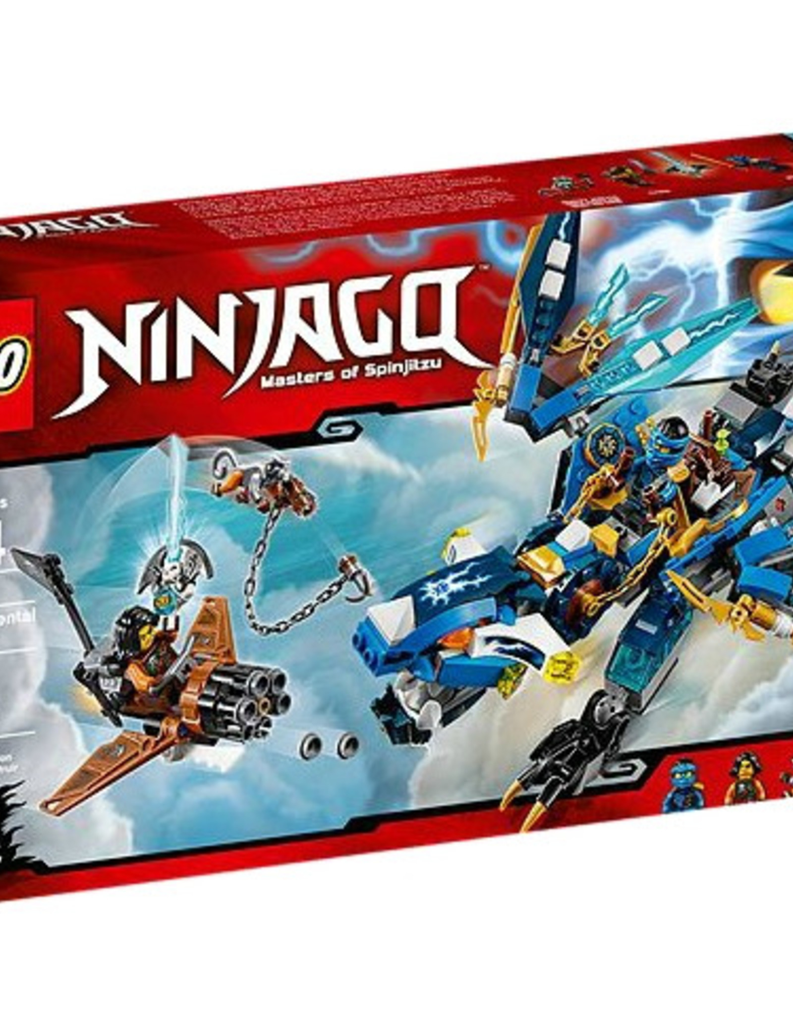 LEGO LEGO 70602 Jay's Elemental Dragon NINJAGO