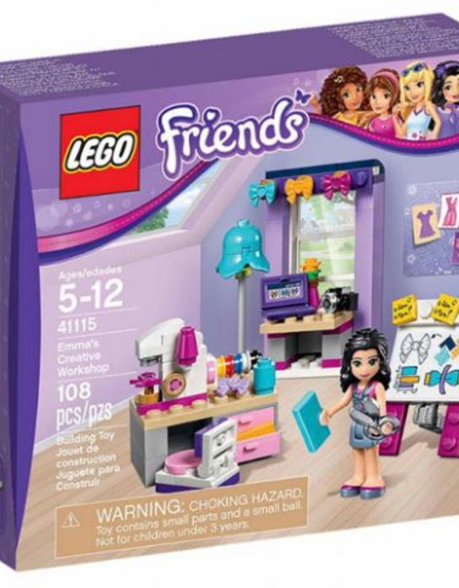 LEGO LEGO 41115 Emma's Creative Workshop FRIENDS