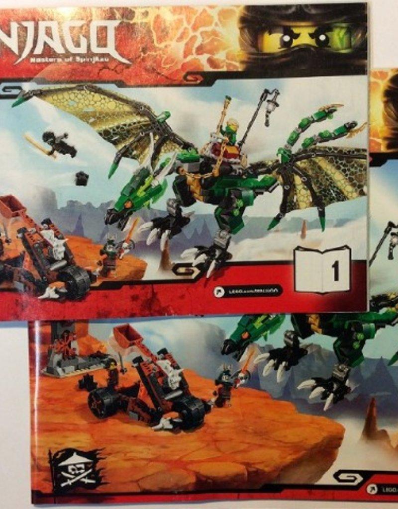 LEGO LEGO 70593 The Green NRG Dragon NINJAGO