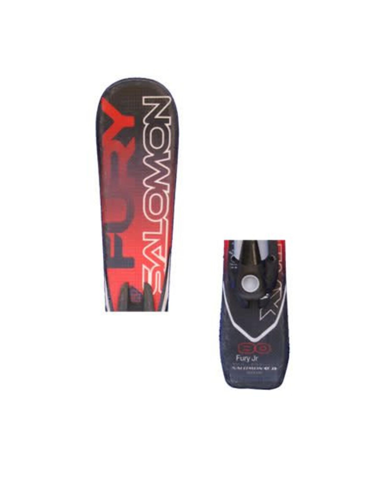 SALOMON Salomon Fury Ski's Rd/Zwart Gebruikt