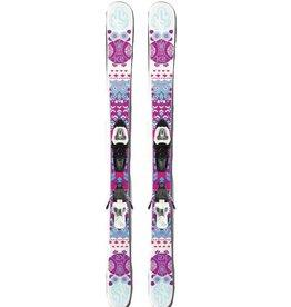 K2 MISSY roze/wit Twintips Gebruikt 129cm