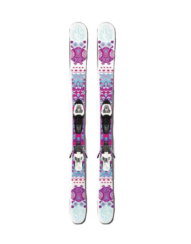 K2 K2 MISSY roze/wit Twintips Gebruikt 129cm