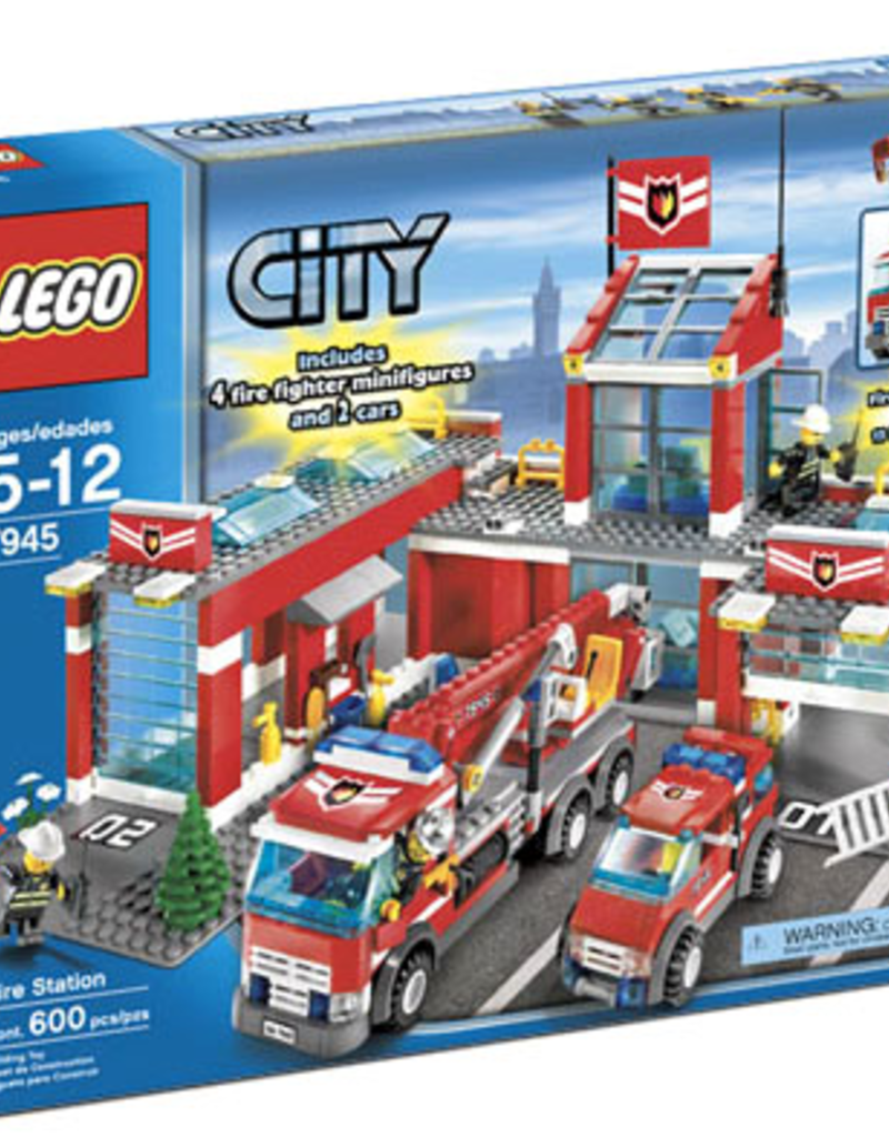 LEGO LEGO 7945 Brandweer kazerne CITY