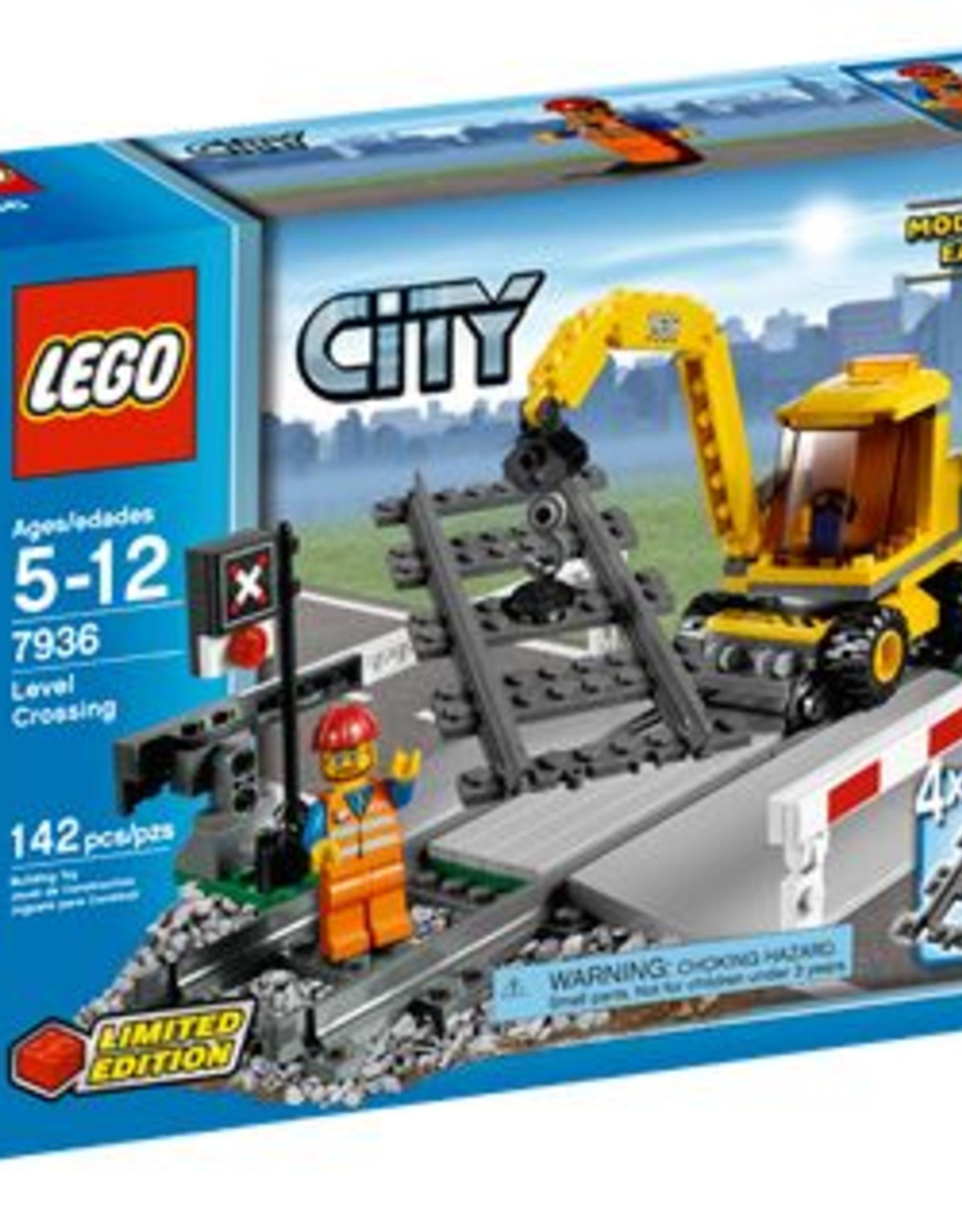 LEGO LEGO 7936 Spoorweg overgang  CITY