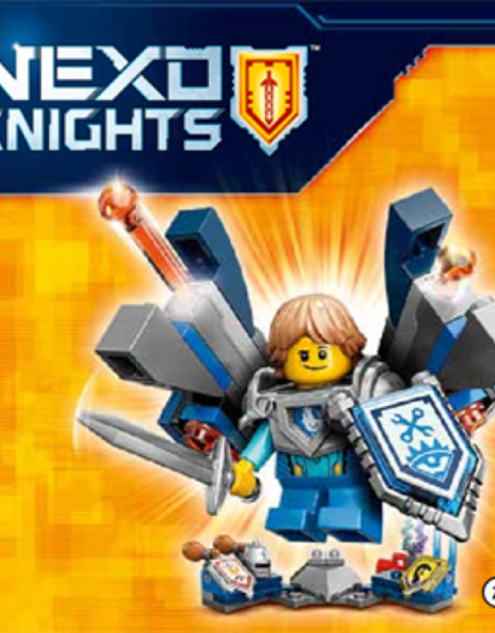 LEGO LEGO 70333 Ultimate Robin NEXO KNIGHTS