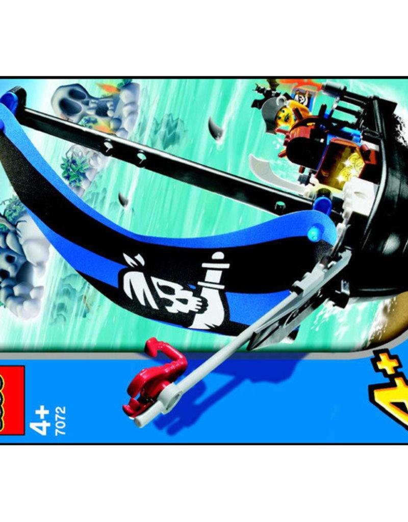 LEGO LEGO 7072 Captain Kragg's Pirate Boat 4JUNIORS