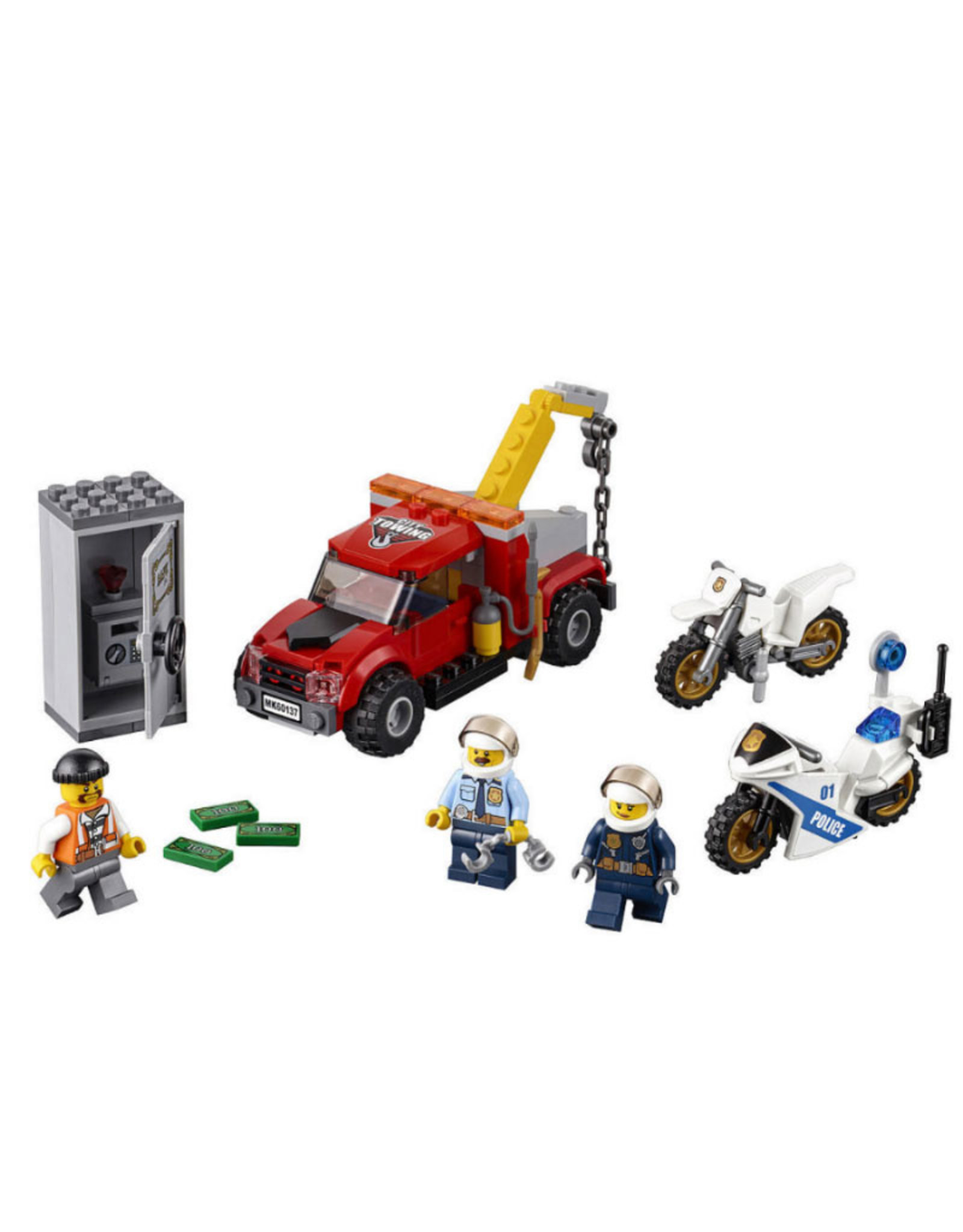LEGO LEGO 60137 Tow Truck Trouble CITY
