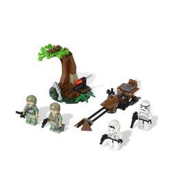 LEGO 9489 Endor Rebel Trooper & Imperial Trooper Battle Pack STAR WARS