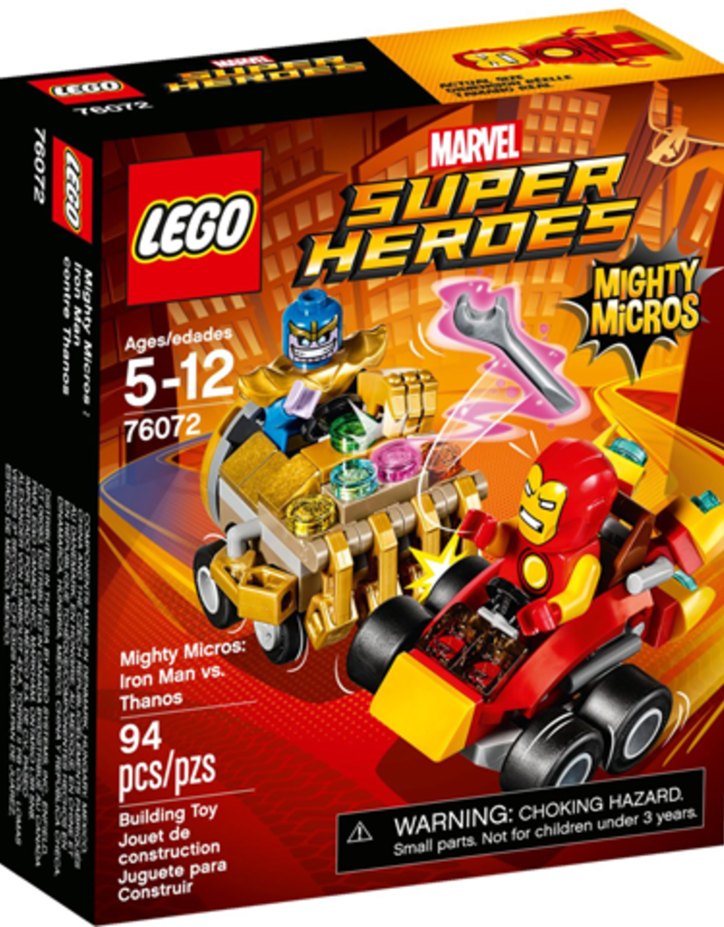 LEGO LEGO 76072 Mighty Micros: Iron Man vs. Thanos SUPER HEROES