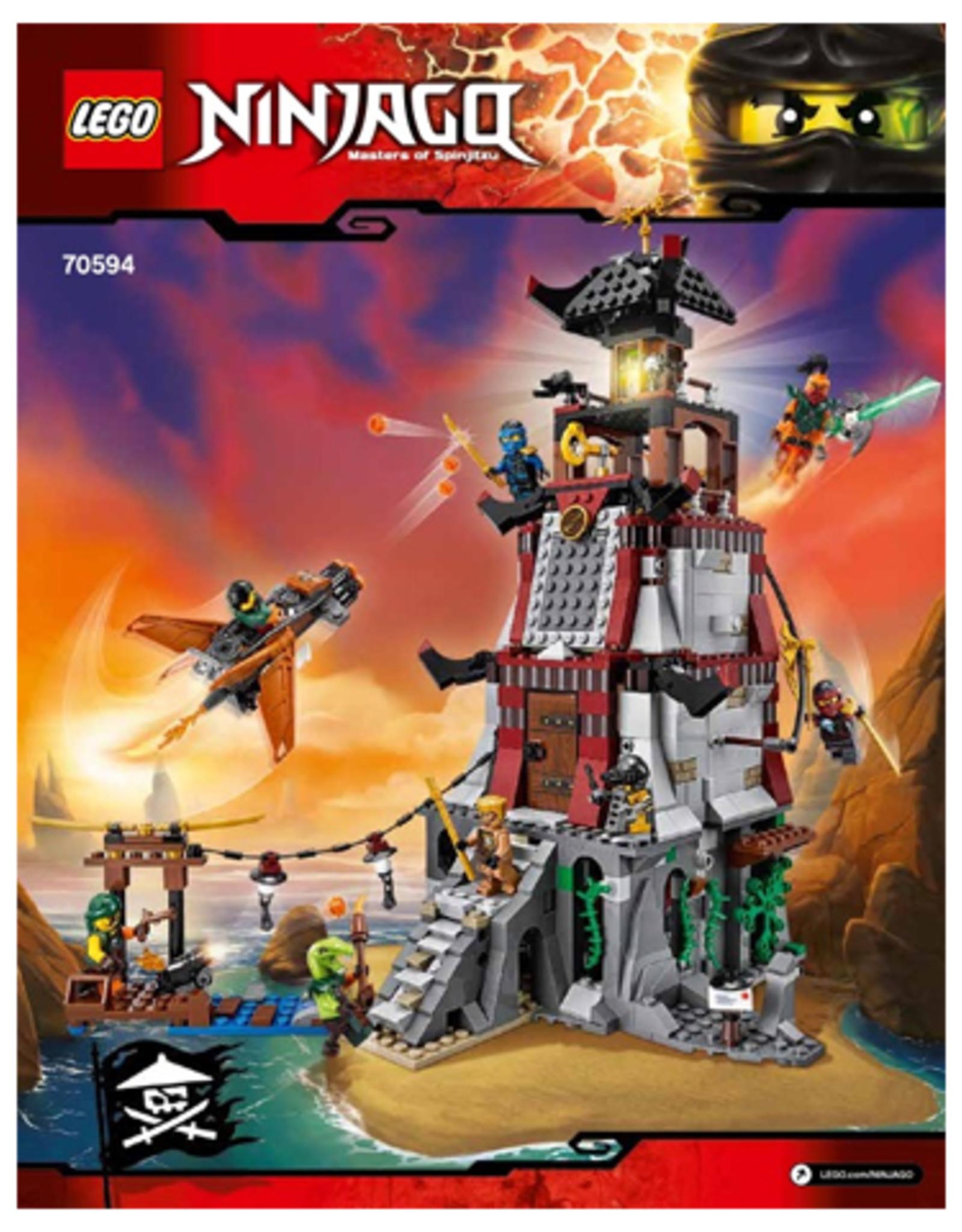 LEGO LEGO 70594 The Lighthouse Siege NINJAGO